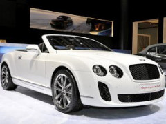 2011 Bentley Continental Supersports Ice Speed Record Convertible