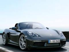 2016 Porsche 718 Boxster